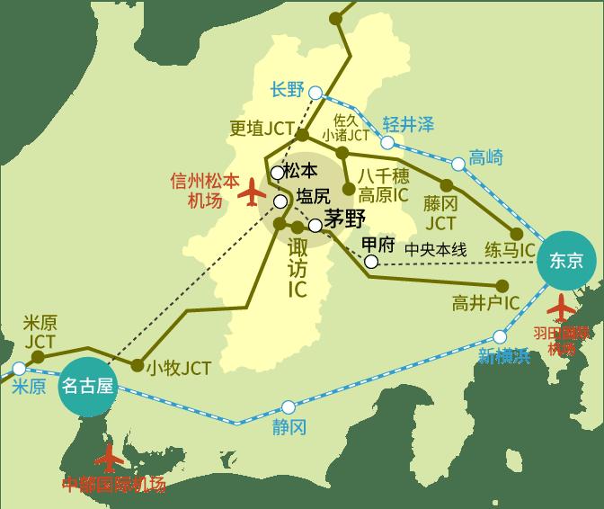 ACCESS MAP 1