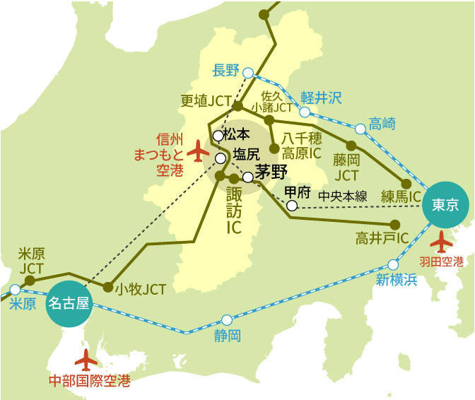 ACCESS MAP 1